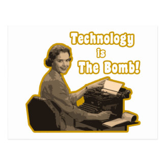technology_is_the_bomb postcard