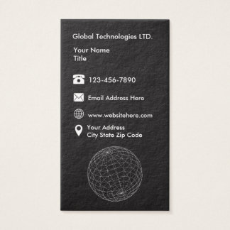 Technology Modern Businesscards Business Card