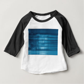 Technology Mosaic Background as a Tech Concept Art Baby T-Shirt