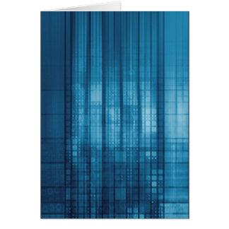 Technology Mosaic Background as a Tech Concept Art Card