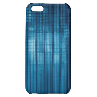 Technology Mosaic Background as a Tech Concept Art Case For iPhone 5C
