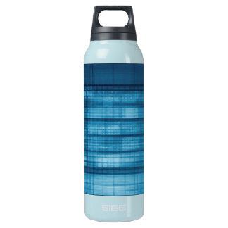 Technology Mosaic Background as a Tech Concept Art Insulated Water Bottle