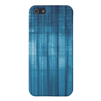 Technology Mosaic Background as a Tech Concept Art iPhone 5 Cover