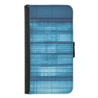Technology Mosaic Background as a Tech Concept Art Samsung Galaxy S5 Wallet Case