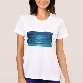 Technology Mosaic Background as a Tech Concept Art T-Shirt
