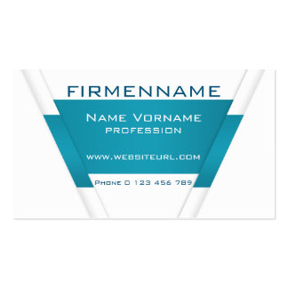 technology pack of standard business cards