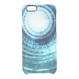 Technology Portal with Digital Circle Access Clear iPhone 6/6S Case