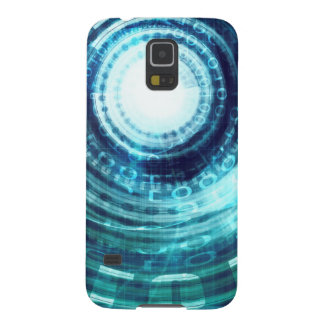 Technology Portal with Digital Circle Access Galaxy S5 Covers