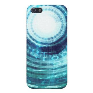 Technology Portal with Digital Circle Access iPhone 5/5S Cases