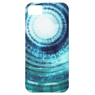 Technology Portal with Digital Circle Access iPhone 5 Case