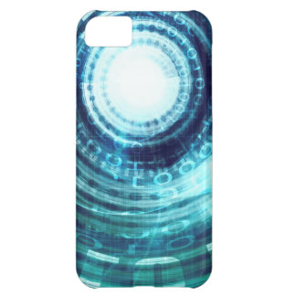 Technology Portal with Digital Circle Access iPhone 5C Case