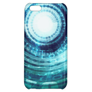 Technology Portal with Digital Circle Access iPhone 5C Covers