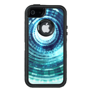 Technology Portal with Digital Circle Access OtterBox Defender iPhone Case