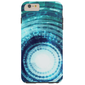 Technology Portal with Digital Circle Access Tough iPhone 6 Plus Case