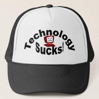technology sucks ball cap