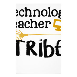 technology teacher tribe stationery