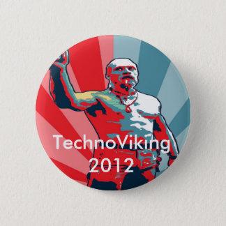 TechnoViking 2012 2 Inch Round Button