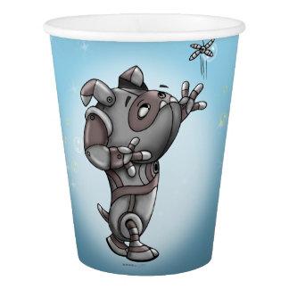 TECK CUTE ROBOT ALIEN PAPER CUP