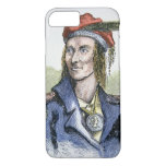 Tecumseh (1768-1813) (coloured engraving) iPhone 8/7 case