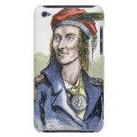 Tecumseh (1768-1813) (coloured engraving) iPod Case-Mate cases