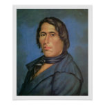 Tecumseh (1768-1813) (oil on canvas) poster