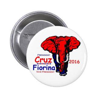 Ted Cruz 2016 2 Inch Round Button