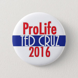 Ted Cruz 2016 2 Inch Round Button
