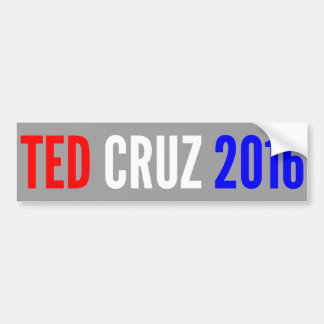 TED CRUZ 2016 Bumper Sticker