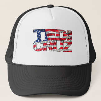 Ted Cruz 2016 (flag) Trucker Hat