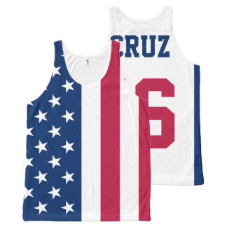 Ted Cruz 2016 for President American Flag
