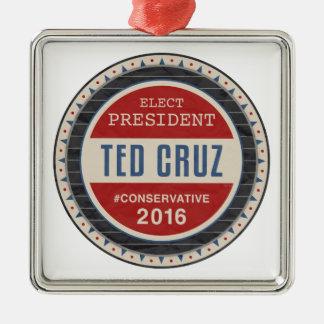 Ted Cruz 2016 Metal Ornament