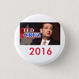 Ted Cruz 2016 Pinback Button