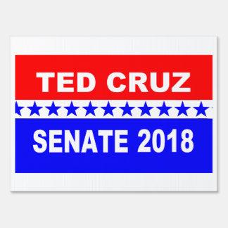 Ted Cruz 2018 Senate Yard Sign