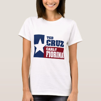 Ted Cruz and Carly Fiorina 2016 T-Shirt