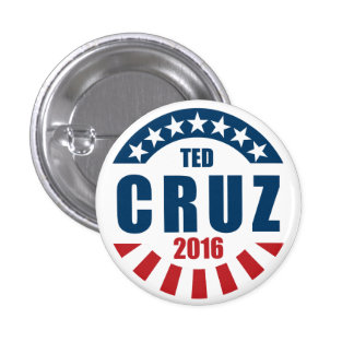 Ted Cruz for president 2016 1 Inch Round Button