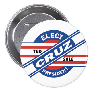 Ted Cruz for President 3 Inch Round Button
