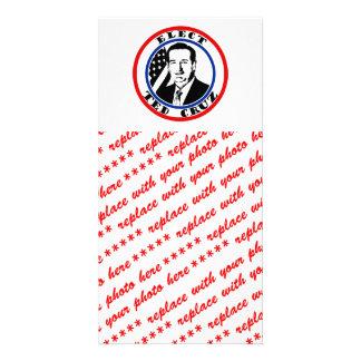 Ted Cruz For President Customized Photo Card
