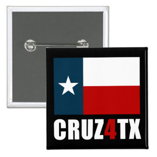 Ted Cruz for Texas Cruz4TX 2 Inch Square Button