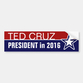 Ted Cruz in 2016 Bumper Sticker