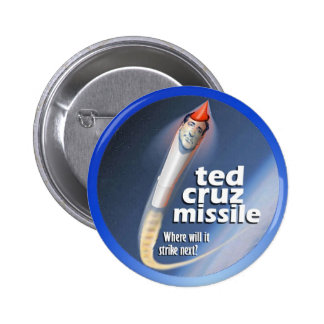 Ted Cruz Missile 2 Inch Round Button
