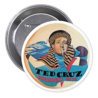 Ted Cruz President 2016 3 Inch Round Button