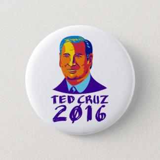 Ted Cruz President 2016 Retro 2 Inch Round Button