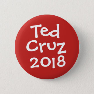 Ted Cruz - Texas Senator in 2018 2 Inch Round Button