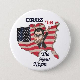 Ted Cuz: The New Nixon 3 Inch Round Button