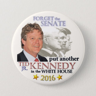 Ted Kennedy, Jr. for President 2016 3 Inch Round Button