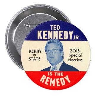 Ted Kennedy, JR pour le sénateur 2013 des États-Un Macaron Rond 7,6 Cm