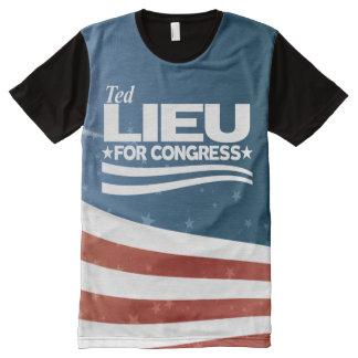 Ted Lieu All-Over-Print T-Shirt