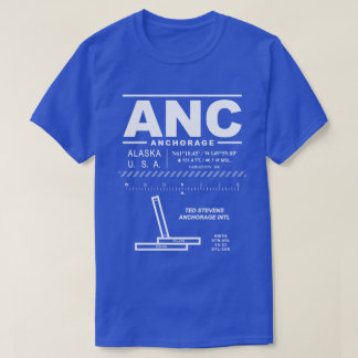 Ted Stevens Anchorage Intl Airport ANC T-Shirt