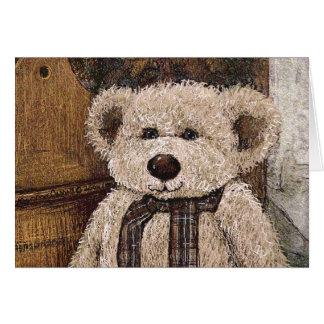 Teddie Bear Card