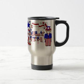 Teddies 4th of July Mug